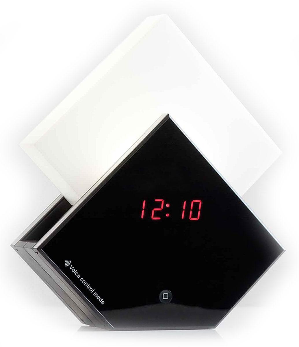 Uniel UTV-70 часы-будильникUTV-70Многофункциональные электронные часы Uniel UTV-70 Симфония рассвета рекомендуются к использованию дома и в офисах. Эта модель безусловно будет удачным украшением любого интерьера.Отличительной особенностью данных часов является светильник, включающийся и выдвигающийся при срабатывании будильника или при нажатии на соответствующую тактильную панель Touch. А включение звуков природы можно задать и просто так в любое время в диапазоне от 10 до 60 минут.Пять различных звуков природыИндикация времени, температуры и датыБудильник с функцией SnoozeИсточник света — светодиодыСенсорное управлениеГолосовое управлениеНапряжение: 230ВЧастота: 50 ГЦСрок службы светодиодов: до 50000 ч