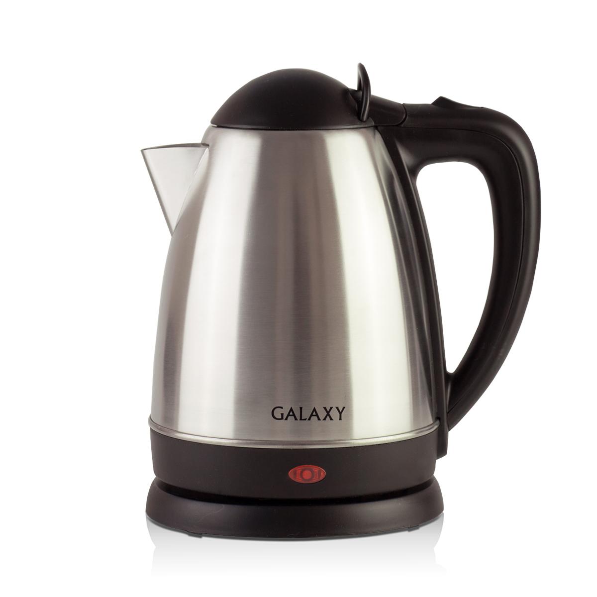 Galaxy GL 0316, Silver чайник электрический4650067301952Металлический чайник Galaxy GL 0316 изготавливается из стали марки 18/10, именуемой медицинской или хирургической. Такое название она получила не случайно, ведь именно из этой марки стали изготавливаются медицинские и хирургические инструменты. Это обусловлено тем, что сталь 18/10 экологически безопасна, имеет высокую плотность и твердость, устойчива к коррозии, а также к воздействию кислот и щелочей, в том числе при высоких температурах.Galaxy Galaxy GL 0316 - это мощная (2000 Вт) модель объемом 1,8 л. С помощью этого чайника вы сможете приготовить чай на большую компанию за считанные минуты. Вращающийся корпус сделает использование чайника еще более удобным, а фильтр избавит от попадания накипи в чашку.