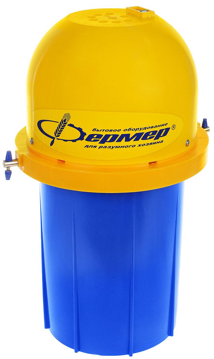 Фермер МБ-01, Blue Yellow маслобойка электрическая