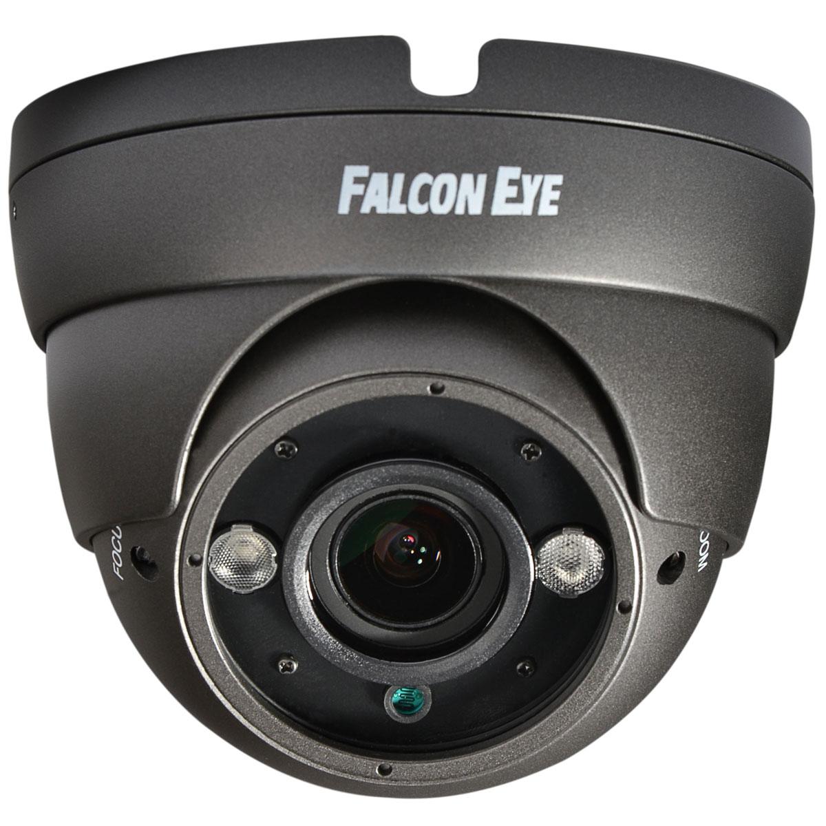 Falcon Eye FE-IDV1080AHD/35M, Grey камера видеонаблюденияFE-IDV1080AHD/35M СЕРАЯFalcon Eye FE-IDV1080AHD/35M - всепогодная AHD-камера, прекрасно подойдет для наружного и внутреннего наблюдения. Данная модель обладает высокопрочным корпусом, благодаря чему надежно защищена от воздействия влаги и пыли, и приспособлена к работе в широком температурном диапазоне, благодаря чему подходит для эксплуатации в неотапливаемых помещениях и на улице. Одной из главных достоинств данной камеры является ее высокое качество съемки, обеспечиваемое матрицей Sony Exmor CMOS IMX322.Камера обладает компактными размерами и эргономичной конструкцией, которая позволяет максимально быстро установить ее в необходимом месте. Кроме того, благодаря внедрению в данной модели ряда передовых разработок камера обладает чрезвычайно низким энергопотреблением. Стоит также отметить, что дальность передачи сигнала данной камеры может достигать 500 м. Если вы решили организовать надежную систему видеонаблюдения, тогда данная модель - это именно то, что вам нужно.Процессор: NVP2441HСигнал/шум: 50 дБКрепление: М14Потребление: 100/340 мАВидеовыход: AHD или аналоговый выход