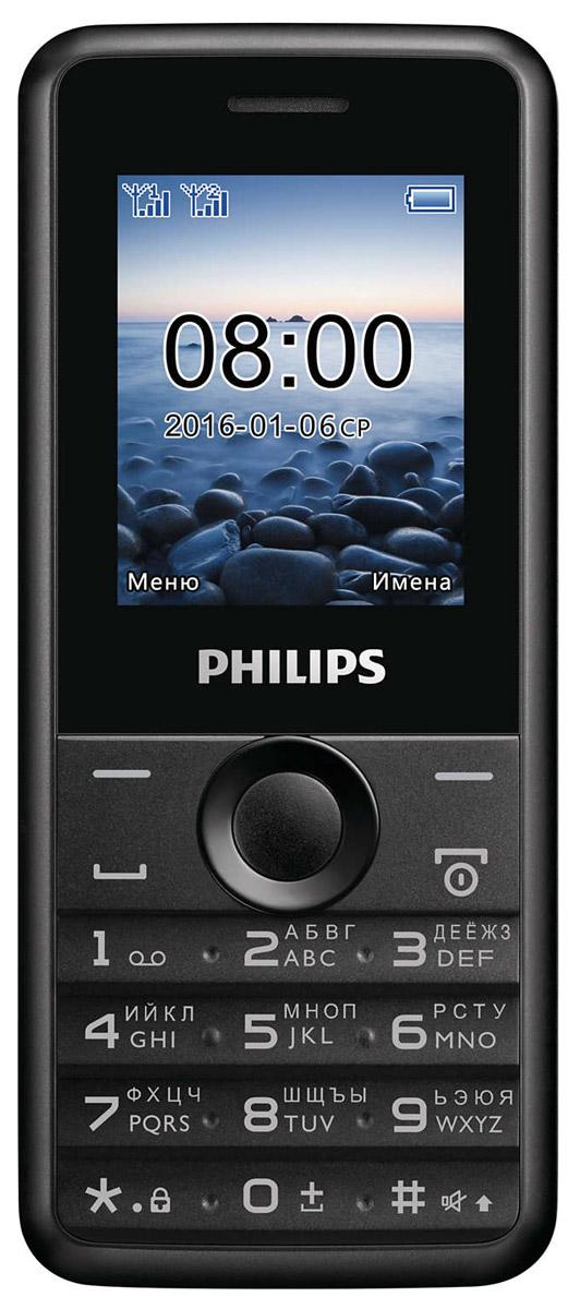 Philips Xenium E103, Black