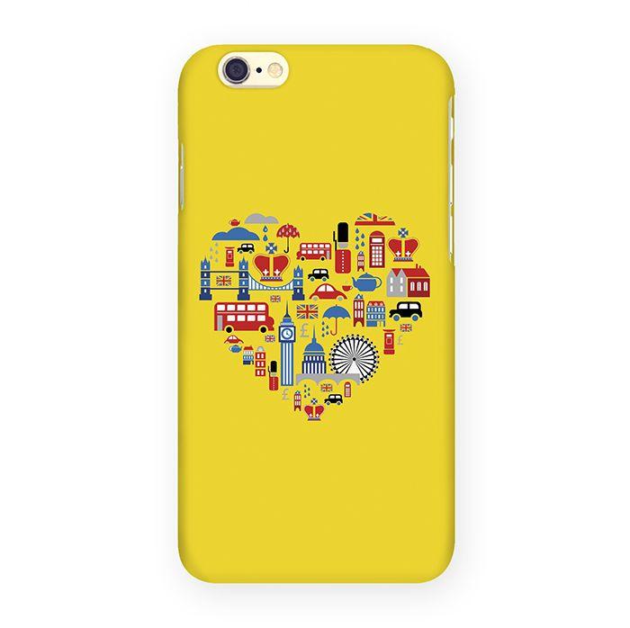 Mitya Veselkov Лондон на желтом чехол для Apple iPhone 6/6sIP6.МITYA-034Оденьте свой любимый iPhone! Чехол Mitya Veselkov для iPhone 6/6s не просто средство защиты от царапин и внешних повреждений, но и модный аксессуар, который сделает ваш образ завершенным. Это стильная и элегантная деталь вашего образа, которая всегда обращает на себя внимание среди множества вещей.