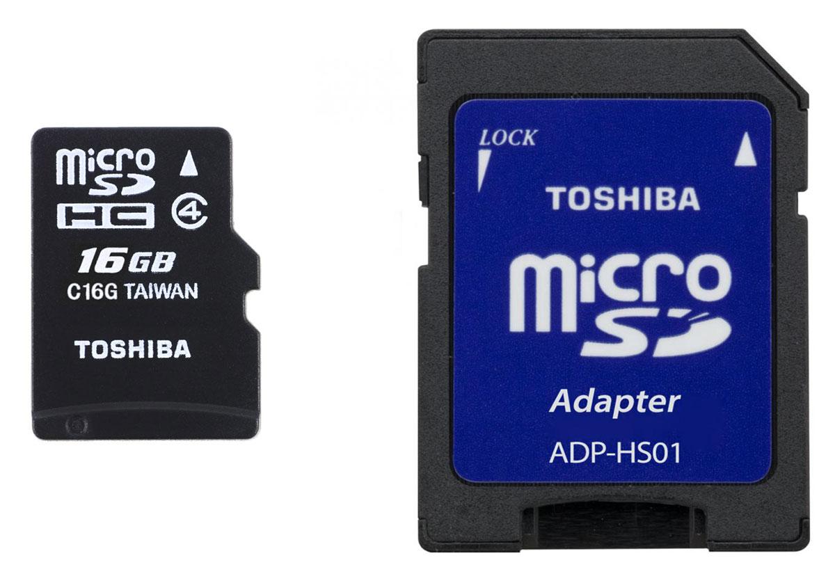 Toshiba microSDHC Class 4 16GB карта памятиTHN-M102K0160M2Карты памяти Toshiba microSDHC Class 4 идеально подходят для хранения приложений и запуска системных файлов.Карты памяти microSDHC Class 4 компании Toshiba водонепроницаемы. Это защитит ваши данные и обеспечит сохранность музыки и фотографий.Карты памяти Toshiba созданы на основе энергонезависимых компонентов памяти и не содержат движущихся частей, которые могут сломаться.