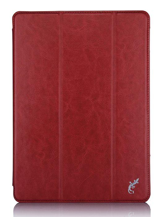 G-case Slim Premium чехол для iPad Pro 9.7, RedGG-672Защитный чехол G-Case Slim Premium для планшета iPad Pro 9,7 отличается высокой степенью защиты от попадания влаги и пыли, а также падений и механических ударов. Среди конструктивных особенностей защитного чехла G-case можно отметить наличие двухпозиционной подставки, благодаря которой устройство можно установить в нескольких положениях для удобства пользования. Чехол имеет свободный доступ ко всем разъемам и кнопкам устройства.