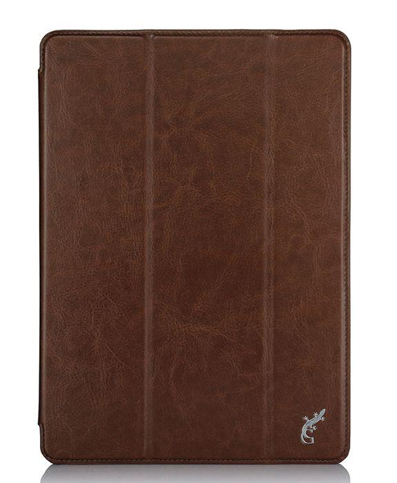 G-case Slim Premium чехол для iPad Pro 9.7, BrownGG-673Защитный чехол G-Case Slim Premium для планшета iPad Pro 9,7 отличается высокой степенью защиты от попадания влаги и пыли, а также падений и механических ударов. Среди конструктивных особенностей защитного чехла G-case можно отметить наличие двухпозиционной подставки, благодаря которой устройство можно установить в нескольких положениях для удобства пользования. Чехол имеет свободный доступ ко всем разъемам и кнопкам устройства.