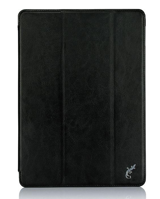 G-case Slim Premium чехол для iPad Pro 9.7, BlackGG-722Чехол для планшета G-Case Slim Premium изготовлен из высококачественной натуральной кожи. Этот материал защищает устройство от повреждений при падениях с небольшой высоты и воздействиях острыми предметами. Кроме того, он способен отталкивать влагу и грязь, обеспечивая идеальную чистоту девайса.- Удобная трансформация. Одним движением руки чехол можно превратить в настольную подставку, подходящую для чтения электронных книг, просмотра видео и Интернет-серфинга.- Прочная фиксация. Для крепления девайса используется жесткая пластиковая рамка, которая полностью исключает его выпадение.- Полный доступ. Чтобы воспользоваться камерой, кнопками или другими функциональными элементами планшета, снимать чехол не придется - в его поверхности предусмотрены специальные вырезы.