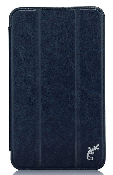 G-case Slim Premium чехол для Samsung Galaxy Tab A 7.0, Dark BlueGG-726Чехол G-Case Slim Premium для Samsung Galaxy Tab A 7.0 - это стильный и лаконичный аксессуар, позволяющий сохранить устройство в идеальном состоянии. Надежно удерживая технику, обложка защищает корпус и дисплей от появления царапин, налипания пыли. Имеет свободный доступ ко всем разъемам устройства.