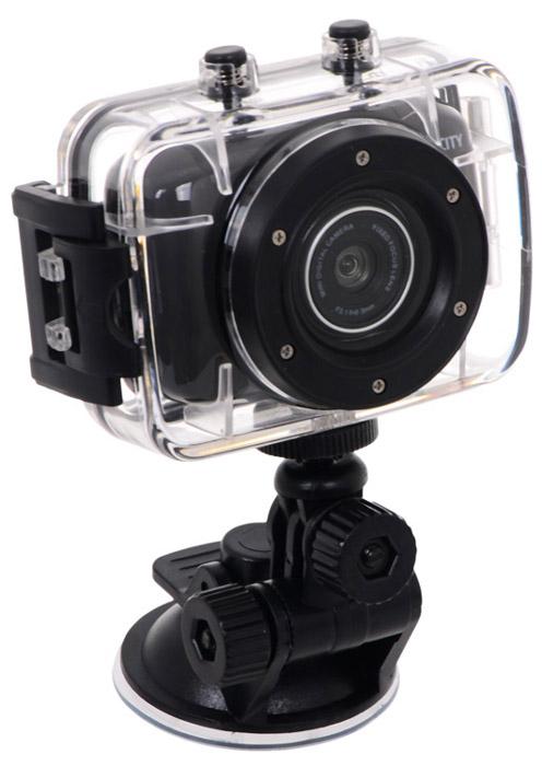 ParkCity Go 10 Pro, Black экшн-камера00000008858ParkCity Go 10 Pro - компактная и недорогая экшн-камера, сочетающая в себе высокое качество записи и удобство в использовании. В комплект входит специальный бокс, обеспечивающий защиту от серьезных ударов, попадания капель воды, позволяющий осуществлять подводную и экстремальную видеосъемку. Стандартные фиксаторы дают возможность размещать девайс на лобовом стекле автомобиля, шлеме, корпусе велосипеда, мотоцикла, водного транспорта.Встроенный аккумулятор позволяет выполнять съемку в течение двух часов, создавая файлы продолжительностью по 30 минут, чего вполне достаточно для записи эффектных моментов вашего экстремального отдыха.Камера оснащена матрицей, благодаря которой можно делать записи в формате 720p. Отлично подобранная линза с широкой апертурой дополняет это преимущество, значительно повышая контрастность съемки.Встроенный микрофонВремя автономной работы: до 2 часовФоторежим