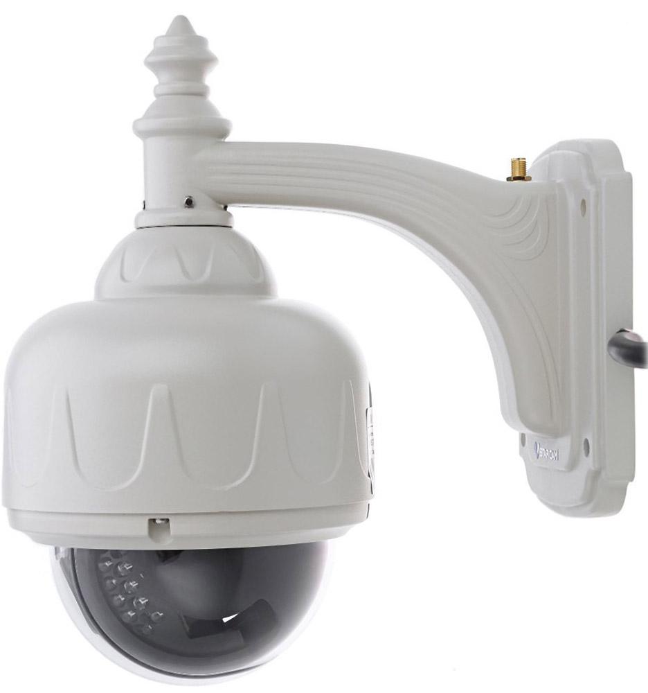 Vstarcam С7833WIP (X4) IP камераC7833WIP-X4Купольная IP-камера VStarcam C7833WIP(x4) - это беспроводная уличная поворотная Wi-Fi камера с 4-х кратным оптическим ZOOM с автофокусировкой, инфракрасной подсветкой для ночного видения и поддержкой технологии P2P и протоколов Onvif и RTSP. Камера транслирует и записывает видео в HD качестве с разрешением 1280 на 720 пикселей и ведет запись на карту памяти до 64ГБ.Уличная купольная P2P камера VStarcam C7833WIP(x4) может использоваться для организации видеонаблюдения:На строительном объекте В коттеджеВ производственном помещении или складеЕсли вам нужно готовое решение в одном корпусе и с простой настройкой, то вы его нашли.C7833WIP(x4) - это беспроводная ip-камера, которая может работать как через сеть Wi-Fi так и по LAN (через сетевой кабель). Благодаря поддержке сжатия видеоизображения в кодек H.264 камеру можно смотреть даже через Интернет 3G или 2G с низкой пропускной способностью и нестабильным соединением, используя, например, 3G роутер. Камера обладает существенным функционалом: 4-х кратный оптический зумвстроенный детектор движения поддержка карт памяти до 64 ГБ, с возможностью удаленного просмотра архивазапись по расписанию запись по тревогеинфракрасная подсветка до 15 метровподдержка протоколов Onvif и RTSPэлектропитание 5 вольтВыбирая Vstarcam вы получаете:Надежное и качественное сертифицированное оборудование с годовой гарантией Русскоязычное программное обеспечение, инструкции и техническую поддержкуМаксимально простую настройку, благодаря технологии Plug and play