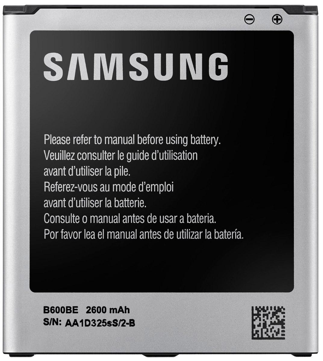Samsung EB-B600BEBE стандартный аккумулятор для S4EB-B600BEBECRUСтандартный аккумулятор для Galaxy S4 со встроенным модулем NFC Samsung EB-B600BEBE подарит множество часов телефонного общения. Благодаря компактности устройства всегда можно носить его с собой, чтобы заменять им севший аккумулятор вашего смартфона.