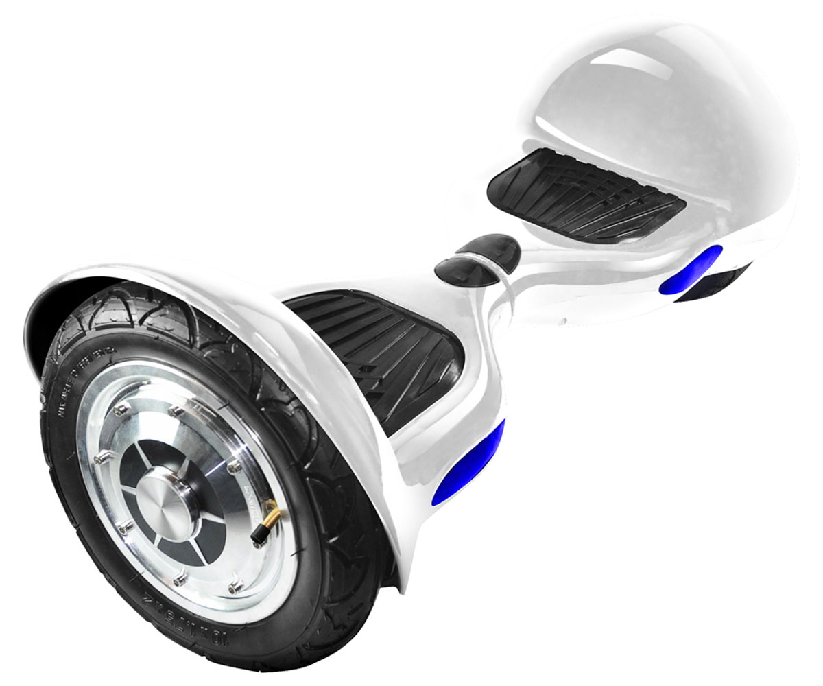 IconBIT Smart Scooter 10, White гироскутер гироскутер 10 дюймов iconbit smart scooter 10 red sd 0004r