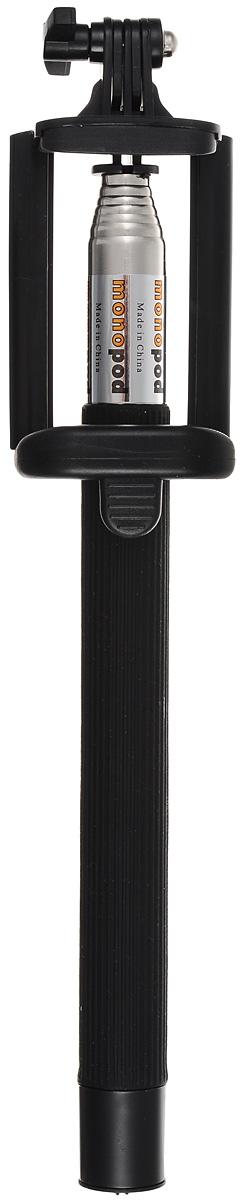 Liberty Project MPD-2, Black беспроводной монопод для селфиR0006060Liberty Project MPD-2 - простое, и невероятно удобное устройство для создания фотографий в жанре селфи. Конструктивно гаджет представляет собой телескопическую ручку-указку. При помощи монопода вы сможете не только запечатлеть себя в разнообразных ситуациях, но и создать по-настоящему оригинальные кадры.Liberty Project MPD-2 оснащена встроенной Bluetooth-кнопкой, благодаря чему его очень удобно использовать в экстремальных условиях. В основании ручки расположены кнопка включения и порт micro USB, используемый для зарядки встроенного аккумулятора.