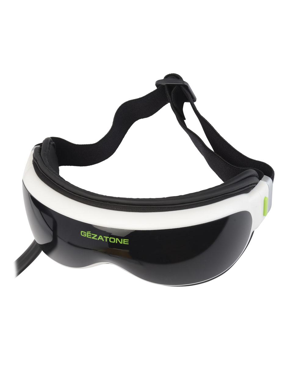 Gezatone Массажер для глаз iSee3801301161Магнитно акупунктурный массажер для глаз с лимфодренажной функцией разработан для снятия спазма мышц и улучшения общего самочувствия. Сочетая несколько опций, массажер для глаз запускает восстановление зрения, улучшает состояние тканей, разглаживает морщинки.Высокочастотный вибромассаж активных точек имеет 10 программ воздействия, которые восстанавливают мышечную активность и избавляют от усталости. Очки массажеры для глаз после рабочего дня избавляют от ощущения «песка» в глазах и нормализуют четкость зрения. Это эффективный прибор для офисных работников, студентов, водителей и тех, кто чувствует нагрузку на глаза. Пневмомассаж улучшает лимфоток и снимает отеки.4 программы прессотерапии в сочетании с вибрацией делают очки для глаз Gezatone отличным средством для устранения следов усталости и стресса. ИК-прогрев в 2-х режимах устраняет спазм сосудов и дарит комфортное тепло. Использование функции прогрева восстанавливает тонус кожи и делает массажер для зрения приятным в использовании.Встроенные магниты улучшают деятельность всех систем, расслабляют уставшие мышцы и устраняют одутловатость. Магнитная функция работает параллельно с остальными, усиливая их действие. Расслабляющие мелодии успокаивают, избавляют от усталости и стресса. 8 мелодий и звуков природы подобраны психологами, чтобы быстро снять накопившиеся за день переживания. Прибор состоит из массажной маски и выносного пульта управления. Пульт оснащен ЖК-дисплеем для выбора программы и режима массажа.Массажер питается от входящего в комплект сетевого адаптера либо от 4АА батарей. Это удобно: используйте прибор дома, в офисе и даже в поездках.