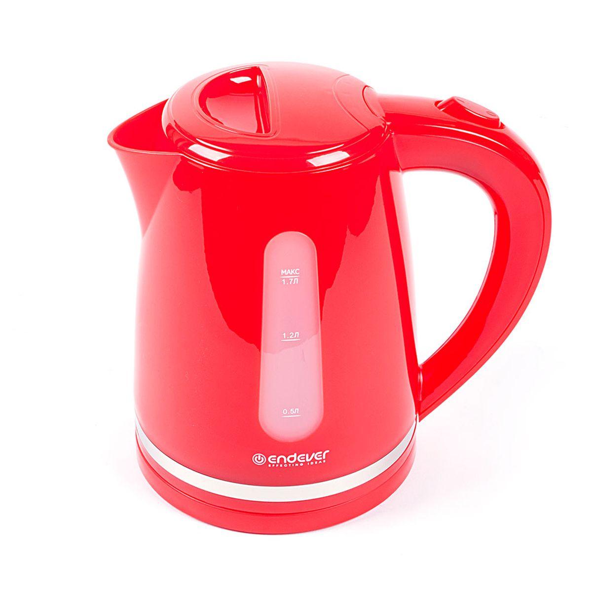 Endever KR-228 Skyline электрический чайникKR-228Endever KR-228 Skyline - это мощная (2400 Вт) модель большого объема (1,7 л). С помощью этого чайника вы сможете приготовить чай на большую компанию за считанные минуты. Вращающийся корпус сделает использование чайника еще более удобным, а фильтр избавит от попадания накипи в чашку.