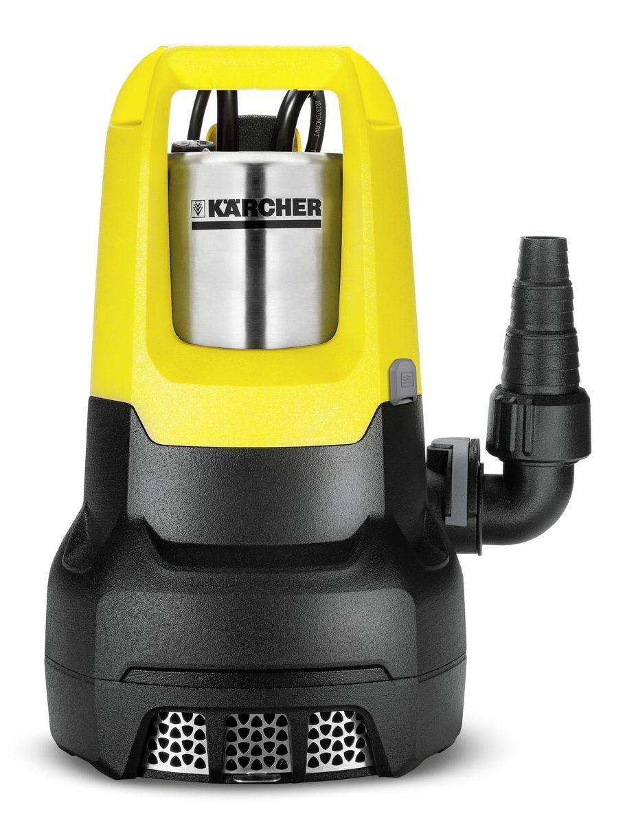 Погружной насос Karcher SP 7 Dirt Inox1.645-506.0Дренажный насос SP 7 Dirt Inox в корпусе из нержавеющей стали. Модель имеет индивидуально регулируемый датчик уровня, который автоматически включает насос при контакте с водой и отключает его через 15 с после снижения уровня воды. Высокая производительность (15 500 л/ч) позволяет использовать этот погружной насос для откачки воды из прудов и бассейнов, затопленных подвалов или строительных котлованов объемом до 100 м?.