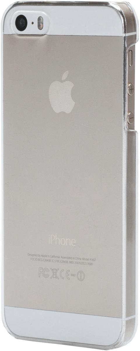 uBear Tone Case чехол для iPhone 5/5s/SE, ClearCS15TR01-I5Чистый дизайн для иконы стиля. Чехол из твердого пластика с Anti-scratch покрытием от царапин. Благодаря Anti-slip покрытию чехол не скользит в руках. Легкий утонченный дизайн, подчеркивающий красоту смартфона. Безупречная защита Вашего устройства. Чехол обеспечивает свободный доступ ко всем функциональным кнопкам смартфона и камере.