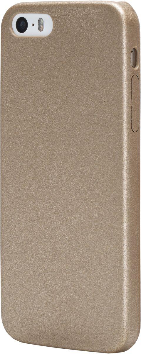 uBear Coast Case чехол для iPhone 5/5s/SE, GoldCS16GO01-I5Лаконичный дизайн в идеальном исполнении. Инновационный, износостойкий материал обеспечит безупречную защиту Вашего устройства. Чехол обеспечивает свободный доступ ко всем функциональным кнопкам смартфона и камере. Премиум сегмент по разумной цене.