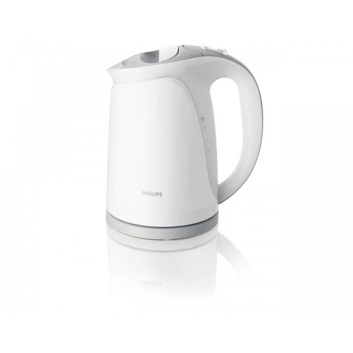 Philips HD4681/05 электрочайникHD4681/05Этот чайник отличается элегантным дизайном, а двойной фильтр от накипи защищает его внутреннюю поверхность от образования известкового налета. Когда чайник включен, горит индикатор, а при закипании воды раздается звуковой сигнал и чайник выключается автоматически.Катушка для удобного хранения шнура