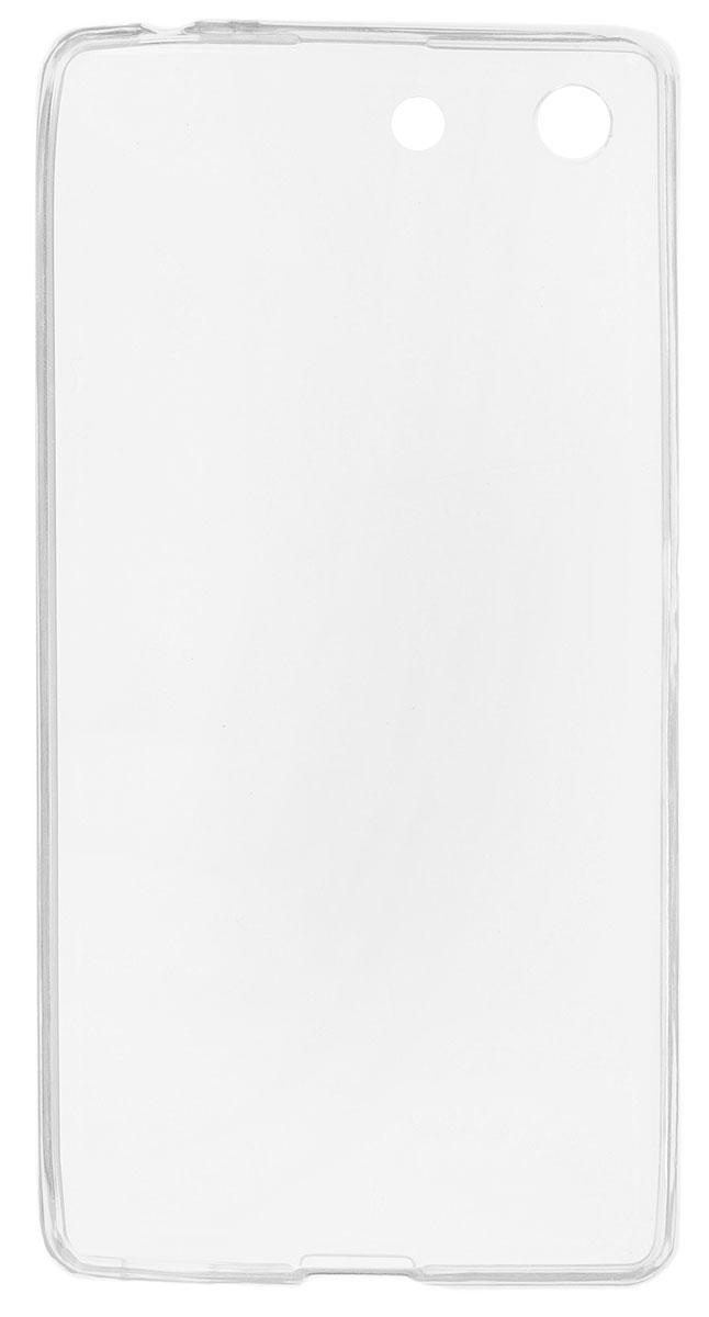 Red Line iBox Crystal чехол для Sony Xperia M5, ClearУТ000007463Практичный и тонкий силиконовый чехол Red Line iBox Crystal для Sony Xperia M5 защищает телефон от царапин, ударов и других повреждений. Чехол изготовлен из высококачественного материала, плотно облегает смартфон и имеет все необходимые технологические отверстия, соответствующие модели телефона.Силиконовый чехол iBox Crystal долгое время сохраняет свою первоначальную форму и не растягивается на смартфоне.