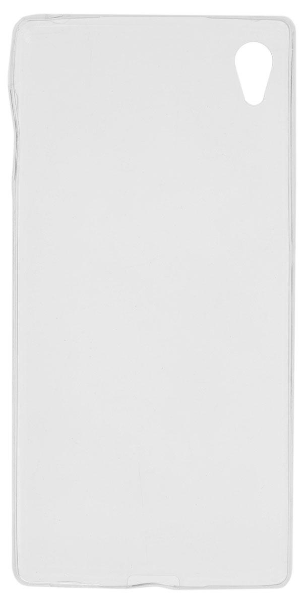 Red Line iBox Crystal чехол для Sony Xperia Z3+, Clear аксессуар чехол накладка sony xperia z3 ibox crystal transparent