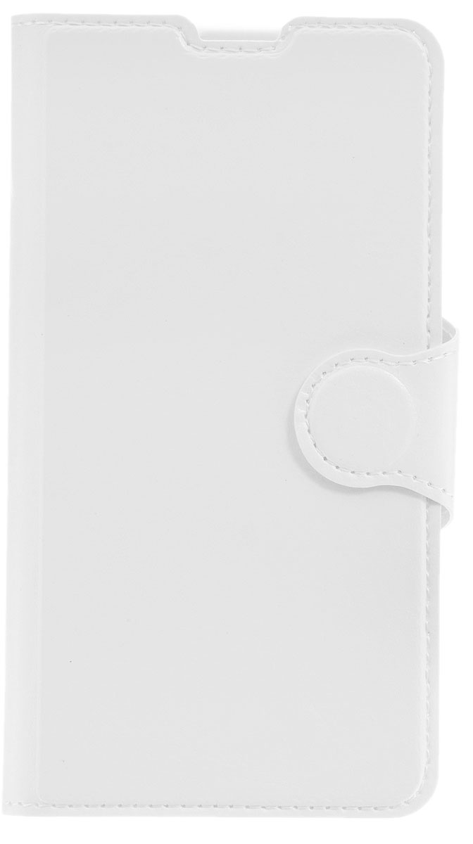 Red Line Book Type чехол-книжка для Microsoft Lumia 550, White аксессуар чехол microsoft lumia 950 xl red line book type sleek black
