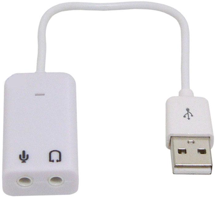 Asia USB 8C V звуковая картаASIA USB 8C VВнешняя звуковая карта ASIA USB 8C V подключается к ПК через порт USB, станет альтернативной заменой внутренней платы. Преобразовывает звук в виртуальный 7.1-канальный. Совместима со всеми основными операционными системами.Чип: C-Media CM108Максимальная частота ЦАП: 48 КГц