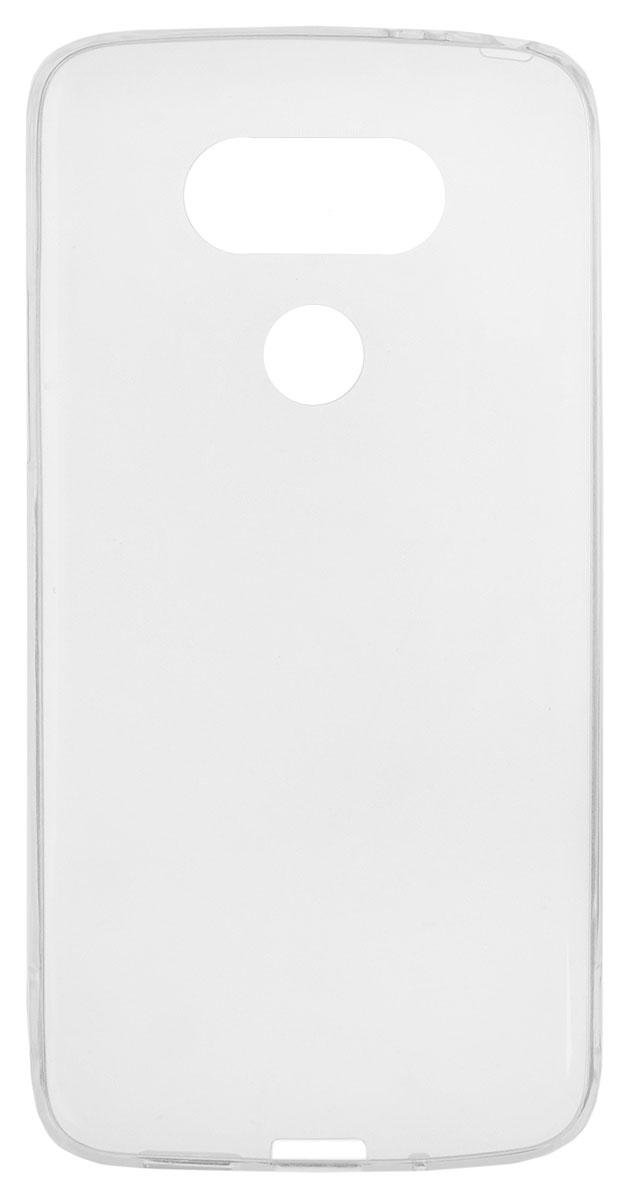 Red Line iBox Crystal чехол для LG G5, ClearУТ000008862Практичный и тонкий силиконовый чехол Red Line iBox Crystal для LG G5 защищает телефон от царапин, ударов и других повреждений. Чехол изготовлен из высококачественного материала, плотно облегает смартфон и имеет все необходимые технологические отверстия, соответствующие модели телефона.Силиконовый чехол iBox Crystal долгое время сохраняет свою первоначальную форму и не растягивается на смартфоне.