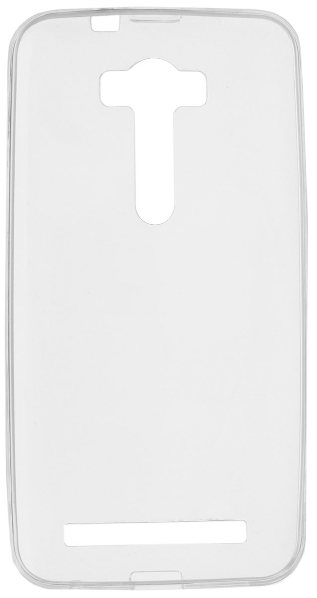 Red Line iBox Crystal чехол для Asus Zenfone 2 Lazer ZE500KL, ClearУТ000007786Практичный и тонкий силиконовый чехол Red Line iBox Crystal для Asus Zenfone 2 Lazer ZE500KL защищает телефон от царапин, ударов и других повреждений. Чехол изготовлен из высококачественного материала, плотно облегает смартфон и имеет все необходимые технологические отверстия, соответствующие модели телефона.Силиконовый чехол iBox Crystal долгое время сохраняет свою первоначальную форму и не растягивается на смартфоне.