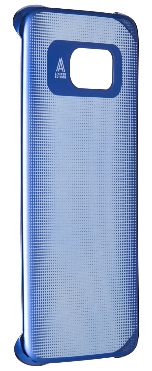 все цены на  Anymode Metalizing Hard чехол для Samsung Galaxy S7 Edge, Blue  онлайн