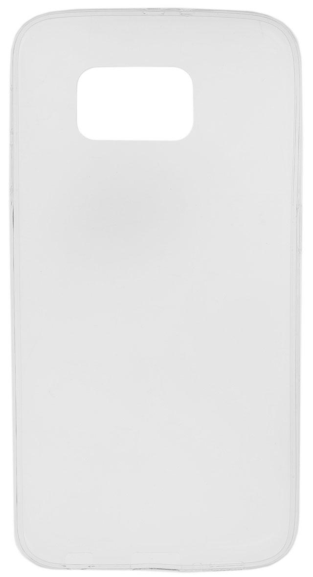 Red Line iBox Crystal чехол для Samsung Galaxy S6, ClearУТ000007069Практичный и тонкий силиконовый чехол Red Line iBox Crystal для Samsung Galaxy S6 защищает телефон от царапин, ударов и других повреждений. Чехол изготовлен из высококачественного материала, плотно облегает смартфон и имеет все необходимые технологические отверстия, соответствующие модели телефона.Силиконовый чехол iBox Crystal долгое время сохраняет свою первоначальную форму и не растягивается на смартфоне.