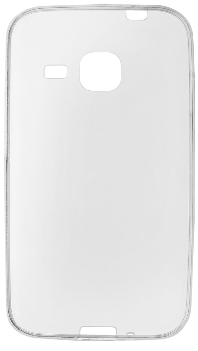 Red Line iBox Crystal чехол для Samsung Galaxy J1 mini (2016), ClearУТ000008222Практичный и тонкий силиконовый чехол Red Line iBox Crystal для Samsung Galaxy J1 mini (2016) защищает телефон от царапин, ударов и других повреждений. Чехол изготовлен из высококачественного материала, плотно облегает смартфон и имеет все необходимые технологические отверстия, соответствующие модели телефона.Силиконовый чехол iBox Crystal долгое время сохраняет свою первоначальную форму и не растягивается на смартфоне.