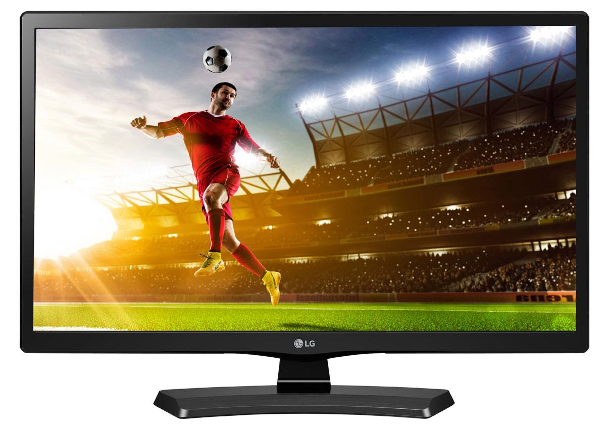 LG 28MT48VF-PZ телевизор28MT48VF-PZСовременный телевизор LG 28MT48VF-PZ для всей семьи. Обладая большим набором интерфейсов, он с легкостью может взаимодействовать с любыми информационными носителями, включая просмотр ваших любимых фильмов напрямую с флэшки.Игровой режим:Благодаря игровым режимам вы сможете создать профессиональную игровую среду. Например, функция стабилизации черного цвета (Black Stabilizer) помогает обнаруживать врагов в самых темных участках, а функция динамической синхронизации действий (Dynamic Action Sync) предотвращает задержки входного сигнала в динамичных играх.Функция автовоспроизведения USB:Функция USB AutoRun повышает удобство: контент воспроизводится, как только вы включаете телевизор, подключив к нему USB-накопитель.Телевизор совместим с настенными креплениями стандарта VESA, поэтому для экономии места, вы можете с легкостью подвесить ТВ на стену.