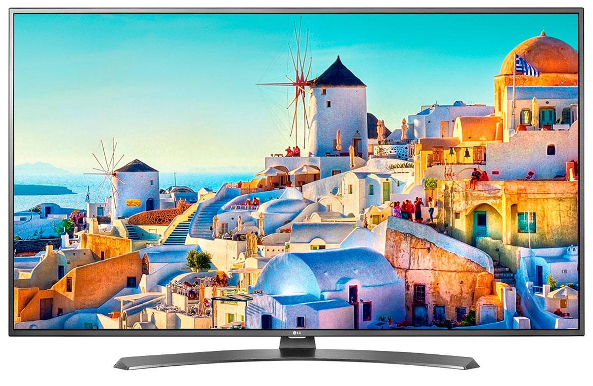 LG 43UH671V телевизор43UH671VОцените инновационный сверхтонкий дизайн ULTRA Slim, который придает телевизору LG 43UH671V исключительно изысканный и элегантный вид. Дизайн ULTRA Slim не только позволит вам сэкономить место, но и гармонично дополнит собой современный эстетичный интерьер вашего дома.HDR Pro:Функция HDR Pro позволяет увидеть фильмы с теми яркостью, богатейшей палитрой и точностью цветовых оттенков, с какими они были сняты.ColorPrime Pro:Яркие и сочные, натуральные оттенки теперь могут быть отображены благодаря расширенному цветовому спектру дисплея UHD телевизоров LG.Широкий угол обзора:IPS 4K экран UHD телевизора LG всегда покажет вам идентичные цвета вне зависимости от того из какой части комнаты вы будете его смотреть.Трёхмерная обработка цвета:В новых UHD телевизорах LG используется трёхмерный алгоритм обработки цвета, что позволяет минимизировать искажения и добиться оттенков, максимально приближенных к натуральным.Локальное затемнение:Алгоритм Локального затемнения заключается в управлении подсветкой каждого блока пикселей в отдельности. Его главная задача - увеличение контрастности и детализации изображения. В результате объекты имеют более чёткие границы, детали цветов более точные, а тёмный фон наиболее насыщен.Энергосбережение:Эта функция включает в себя контроль подсветки, который позволяет регулировать яркость экрана в целях экономии электроэнергии.Металлический дизайн:Оцените обновлённый дизайн корпуса телевизорас металлическими элементами.ULTRA Surround:Специальный алгоритм преобразовывает звуковые волны, исходящие из двухканальных динамиков так, что вам будет казаться, что вы слушаете 7-канальный звук. Получите ещё больше удовольствия от просмотра 4К фильмов!webOS 3.0:Обновлённая операционная система LG SMART TV на базе webOS 3.0 создана для того, чтобы доступ к фильмам, сериалам, музыке и интернет-порталам через телевизор был простым и удобным.