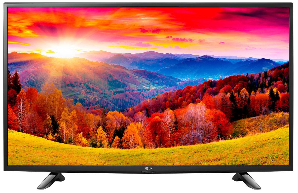 LG 49LH595V телевизор49LH595VСовременный телевизор LG 49LH595V для всей семьи.Металлический дизайн:Оцените обновлённый дизайн корпуса телевизора с металлическими элементами.Triple XD процессор:Новый графический процессор отвечает за качество цветопередачи, уровень контрастности и чёткость изображения.Picture Wizard III:Система точной настройки Picture Wizard III позволяет вам быстро отрегулировать глубину чёрного, цветовую гамму, чёткость изображения и уровень яркости.Virtual Surround Plus:Испытайте эффект объёмного звучания с алгоритмом кинотеатрального распределения звуковой волны.Clear Voice III:Автоматическая система подавления шумов и усиления звучания голоса направлена на отделение основных звуков от фона, что помогает чётко слышать речь актёров и телеведущих.webOS 3.0:Обновлённая операционная система LG SMART TV на базе webOS 3.0 создана для того, чтобы доступ к фильмам, сериалам, музыке и интернет-порталам через телевизор был простым и удобным.
