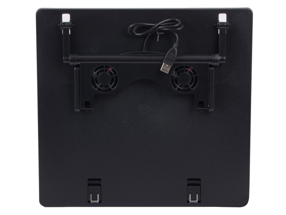Подставка для ноутбука Hama H-3979639796Эргономичная охлаждающая подставка для ноутбуков с диагональю экрана до 17,3 дюйма. Использование подставки позволяет избежать перегрева ноутбука и установить его в наиболее комфортном положении. Прорезиненные ножки не дадут компьютеру соскользнуть.