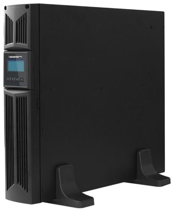 Источник бесперебойного питания Ippon Innova RT 1000, Black9103-53632-00PСерия источников бесперебойного питания IPPON INNOVA RT выполнена по технологии On-Line (с двойным преобразованием входного напряжения). Они обеспечивают прекрасную защиту для серверных систем под управлением Novell, Windows NT и UNIX, а также другого важного и дорогостоящего оборудования.Двойное преобразование полностью устраняет опасности, связанные с нарушением электропитания.