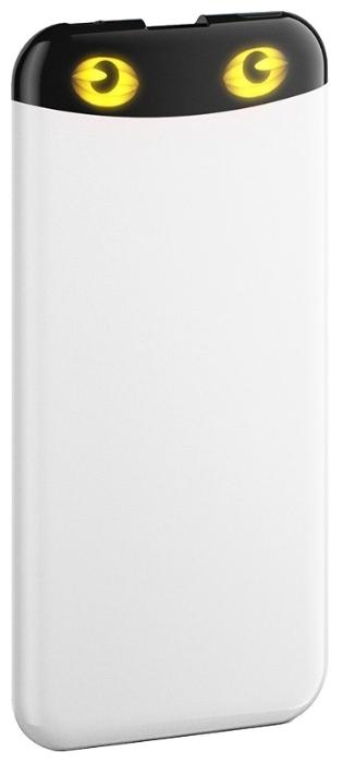 Внешний аккумулятор HIPER Power Bank EP6600, White (6600 мАч)EP6600 WHITEPower bank HIPER PowerBank EP6600 6600mAh 2.1A white