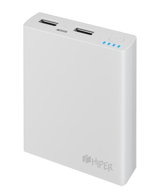 все цены на  Внешний аккумулятор HIPER Power Bank RP7500, White (7500 мАч)  онлайн