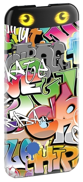 HIPER Power Bank EP6600, Graffiti внешний аккумулятор (6600 мАч)EP6600 GRAFFITIPower bank HIPER PowerBank EP6600 Graffiti 6600mAh 2.1A