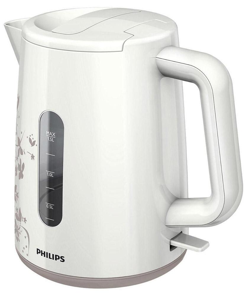 Philips HD9310/14 электрочайникHD9310/14Не правда ли, здорово за считаные секунды вскипятить воду и без лишних усилий очистить чайник Philips? Плоский и удобный в очистке нагревательный элемент позволяет быстро вскипятить воду. Благодаря моющемуся фильтру от накипи вода становится чистой, а напитки - без частиц известкового осадка. Удобное наполнение через носик/крышкуНаполнить чайник можно через носик или открыв крышку. Индикаторы уровня воды с двух сторон чайникаИндикаторы уровня воды по обеим сторонам электрического чайника Philips будут удобны и для правшей, и для левшей. Катушка для удобного хранения шнураШнур оборачивается вокруг основания, что позволяет легко разместить чайник на кухне. Беспроводная подставка с поворотом на 360° для удобства использования. Фильтр для защиты от накипиФильтр для защиты от накипи обеспечивает чистоту воды и чайника. Плоский нагревательный элемент для быстрого кипячения воды и легкой чисткиВстроенный нагревательный элемент из нержавеющей стали обеспечивает быстрое кипячение и простую чистку. Широко открывающаяся откидная крышка для удобства наполнения и чистки чайникаШироко открывающаяся откидная крышка для удобства наполнения и чистки чайника исключает контакт с паром. Комплексная система безопасностиКомплексная система безопасности для предотвращения короткого замыкания и выкипания воды. Функция автовыключения активируется, когда процесс завершается или прибор снимается с основания.