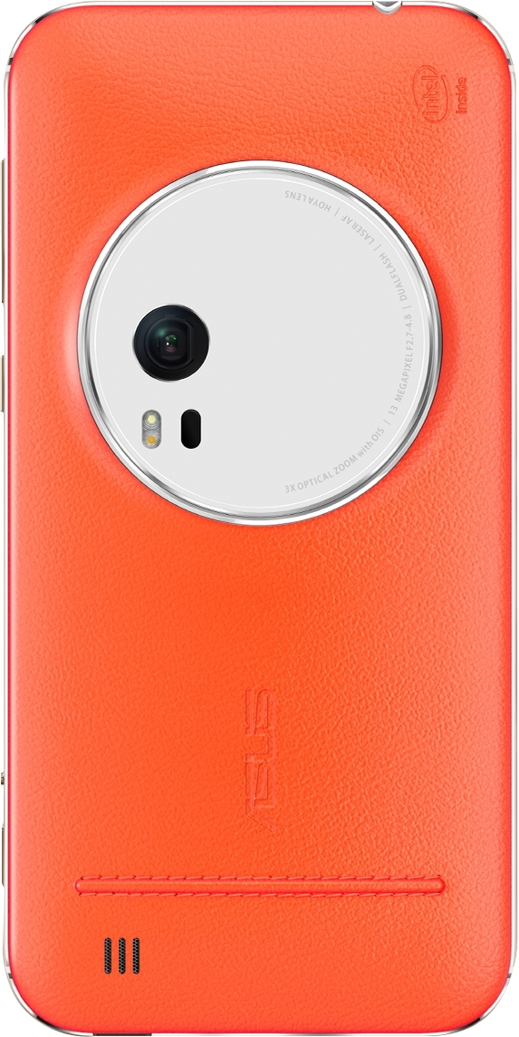 Чехол (флип-кейс) ASUS Leather Case для ZenFone ZX551ML, Orange90AC0100-BBC005