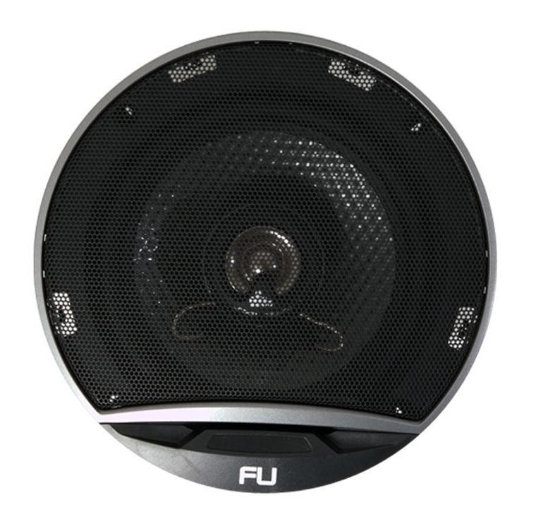 Колонки автомобильные FLI Underground FU6-F1RFU6-F1Коаксиальная акустическая система FLI Underground FU6-F1 двухполосная, а это упрощает процесс монтажа аудиосистемы. Такую аудио систему чаще всего используют для замены штатных дверных колок в автомобиле. Динамики обладают достаточной мощностью 50 Вт, что обеспечивает достаточный уровень громкости звука. Диапазон частот, которые способны воспроизводить динамики этой аудиосистемы от 65 до 20000 Гц, поэтому звук будет иметь достаточное качество при эксплуатации системы в автомобиле. У FLI Underground FU6-F1 диффузор выполнен из полипропилена, поэтому даже при низкой температуре колонки будут выдерживать максимальную нагрузку и выдавать качественный звук.
