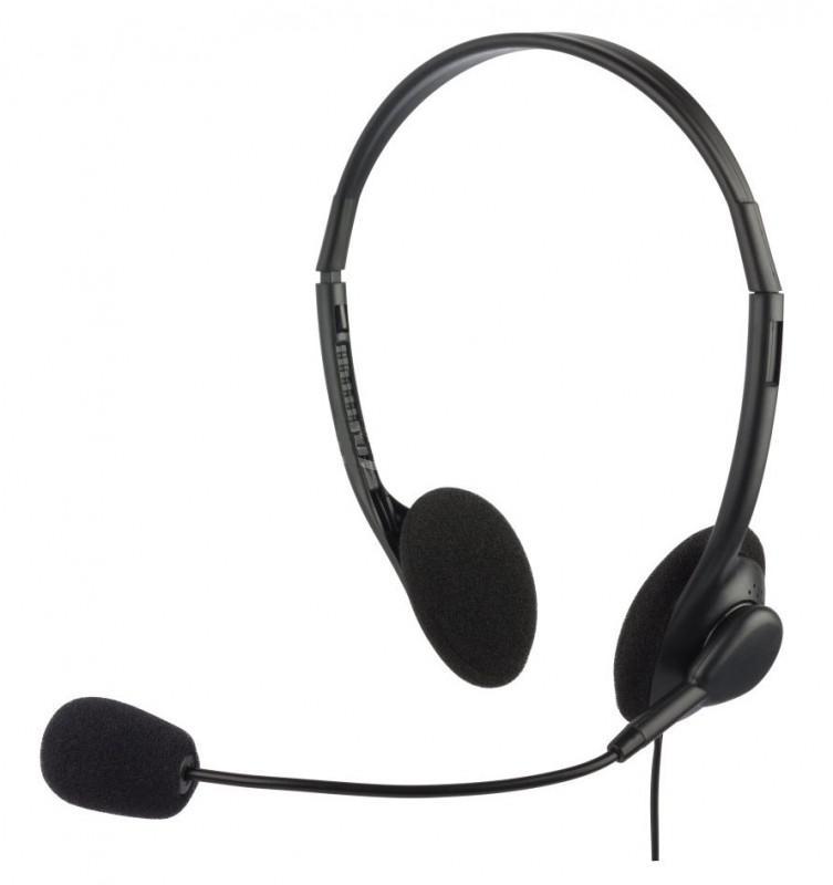 Наушники с микрофоном Oklick HS-M143VB, Black614036От использования наушников с микрофоном OKLICK HS-M143VB, отличающихся высоким качеством, у вас останутся исключительно приятные впечатления. Мягкие накладные амбушюры, плотно прилегающие к ушам, обеспечивают не только комфорт, но и хорошую шумоизоляцию, а встроенные в данную неодимовые излучатели позаботятся о воспроизведении высококачественного стереозвучания. Наушники с микрофоном OKLICK HS-M143VB подходят не только для прослушивания музыки, но и для сетевых игр, голосового общения в сети Интернет и разговоров по телефону. Микрофон с чувствительностью 42 дБ позволит вашему собеседнику отчетливо слышать ваш голос. Гарнитура имеет 1,8-метровый кабель со штекером 3,5 мм для подключения к устройствам, воспроизводящим звук. На кабеле расположен регулятор, позволяющий быстро настроить оптимальную громкость звука.