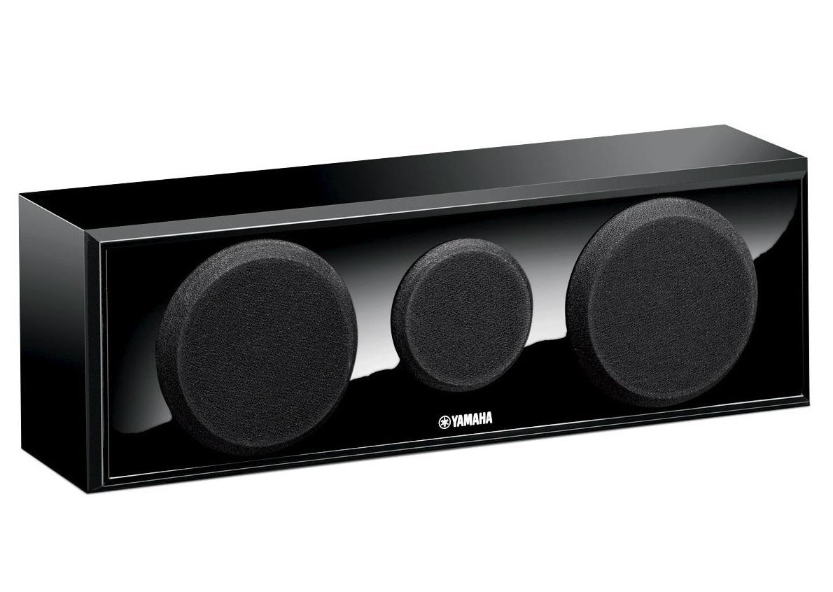 Центральная и тыловые колонки Yamaha NS-P150 3.0, Black (3 шт)ANSP150BL2-полосная акустическая система с 3 динамиками (центральная АС)Центральная АС имеет два НЧ-динамика с коническими диффузорами диаметром 8 см и сбалансированный купольный ВЧ-динамик диаметром 1,4 см для отчетливого воспроизведения диалогов и вокала.