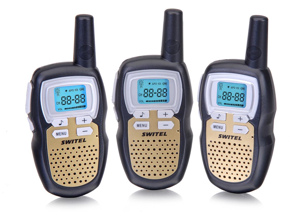 Switel Радионяня 3 рации -  Радио и видеоняни