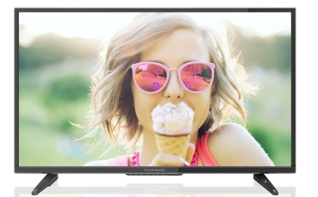 Thomson T43D16SF-01B телевизорT43D16SF-01BТелевизор Thomson T43D16SF-01B обладает необыкновенно малой толщиной экрана и в сочетании с утонченным дизайном позволяет вписаться в любой интерьер. Цифровой тюнер DVB-T/Т2/S/S2 и DVB-C обеспечивает возможность пользоваться всеми преимуществами цифрового телевидения и наслаждаться телевидением высокой четкости. Также вы можете использовать ваш телевизор Thomson T43D16SF-01B как монитор для персонального компьютера.Яркость: 220 кд / кв.мКонтрастность: 1200 :1Угол обзора по горизонтали / вертикали: 178/178 градусовКоличество цветов: 16,7 млнФормат экрана: 16:9Время отклика пикселя: 6,5 мсЭквалайзер