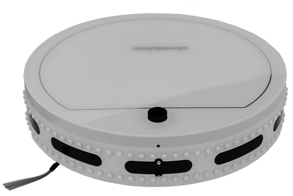 Clever&Clean Zpro-Series White Moon II робот-пылесосZPRO-SERIES WMIIРобот-пылесос Zpro-series WHITE MOON II - является продолжением, зарекомендовавшей себя, классической Z-серии роботов-пылесосов Clever&Clean, при этом комплект поставки включает в себя максимальную комплектацию аксессуаров, которой точно хватит при ежедневной уборке в течение года.Передняя часть робота оснащена сенсорами предотвращающими столкновение с мебелью и другими предметами интерьера, а также 80-ю датчиками распознающими соприкосновение – это позволяет снизить уровень шума во время уборки помещения и минимизировать физический контакт робота с мебелью.Удобный пульт управления работает на радио частотах, что позволяет управлять роботом-пылесосом практически из любой части квартиры (сигнал проходит сквозь стены). Также пульт оснащен информативным ЖК дисплеем и предоставляет возможность производить ручное управление роботом-пылесосом для вывода его в любое место в квартире.