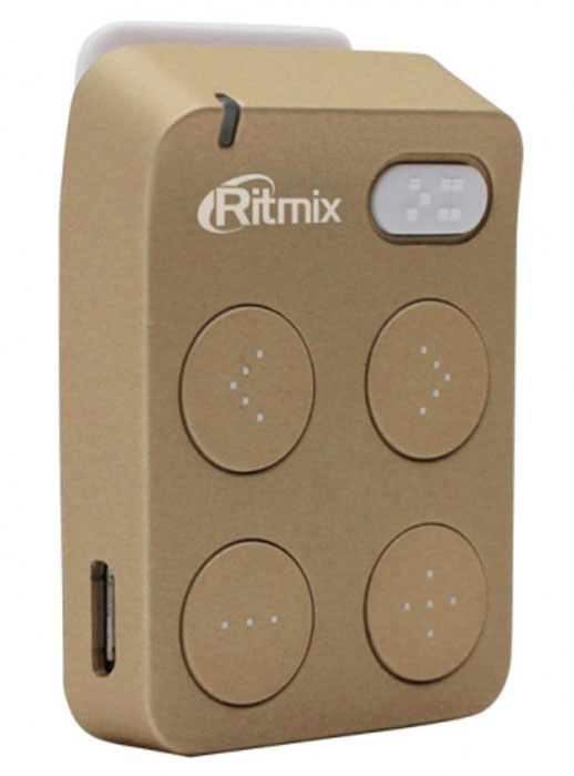 Ritmix RF-2500 4GB, Gold MP3-плеер