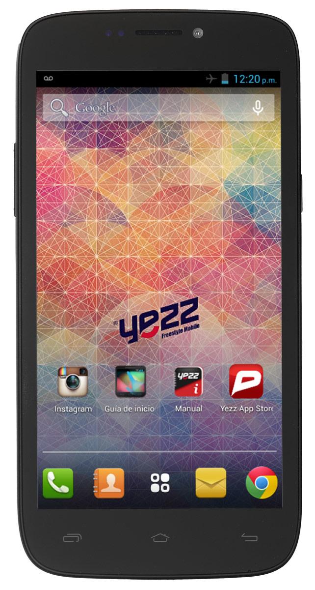 Yezz Andy 5.5EI, BlackANDY 5.5EI 3G DS BlackБюджетный Android-смартфон Yezz Andy 5.5EI порадует, в первую очередь, высоким качеством исполнения и оптимальным набором функций для современного пользователя.5,5-дюймовый TFT экран обеспечивает качественное изображение при любых условиях. Благодаря мощному двухъядерному процессору MediaTek MT6572 с частотой 1.3 ГГц и 512 МБ оперативной памяти ресурсоемкие игры и приложения, онлайн фильмы, браузинг и многозадачность доступны вам в любое время. Храните свои фото, видео и приложения на 4 ГБ внутренней памяти - этого вполне достаточно для большого количества файлов. Если вам понадобится больше места - просто расширьте память с помощью SD карты объемом до 64 ГБ.Используйте преимущества основной камеры с разрешением 8 Мпикс для создания качественных видео или делайте селфи с помощью 1,3-мегапиксельной фронтальной камеры. Yezz Andy 5.5EI имеет два слота для SIM-карт - используйте две карты для интернета и звонков или оставайтесь на связи с друзьями независимо от их мобильного оператора. Телефон сертифицирован EAC и имеет русифицированный интерфейс меню и Руководство пользователя.
