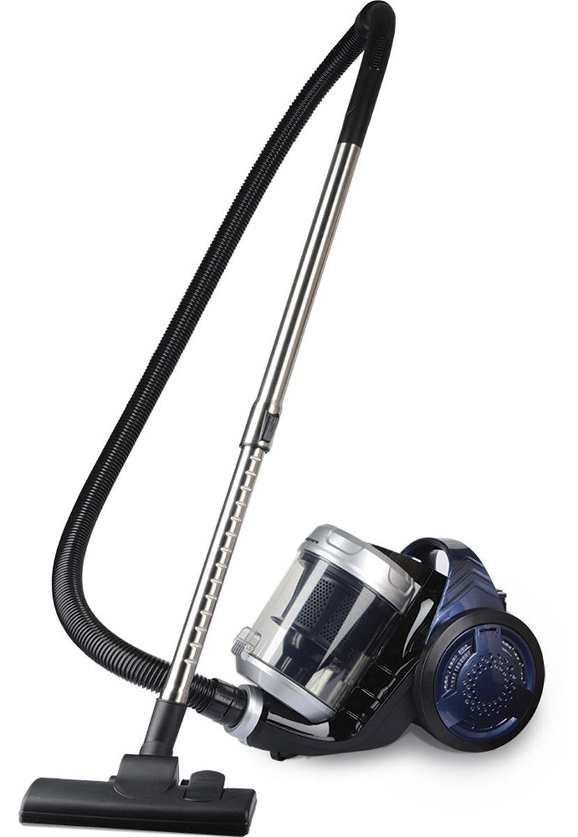 Polaris PVC 1835 бытовой пылесосPVC 1835Пылесос Polaris PVC 1835 станет идеальным помощником в вашем доме для быстрой и качественной уборки. Он оснащен HEPA-фильтром, который обладает антибактериальными свойствами, устраняя микробы и мельчайшие частицы пыли. Мусор в пылесосе собирается в специальный пылесборочный контейнер объемом 3,5 литра.Пылесос Polaris PVC 1835 функционален и очень удобен в эксплуатации. Шнур автоматически сматывается при нажатии одной кнопки. Универсальный комплект насадок позволяет очистить практически любую поверхность, в том числе углы и труднодоступные места.